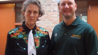 Dr. Temple Grandin Speaks To Bark Busters Home Dog Training