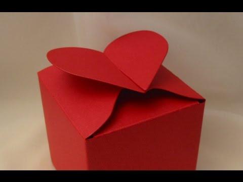 Видео как сделать коробочку сердечко из бумаги 105