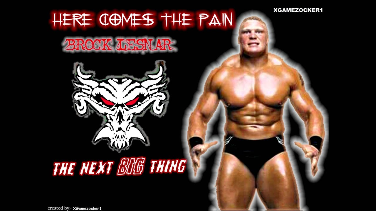 WWE Brock Lesnar Returns Theme 2012 Here Comes The Pain FULL HD