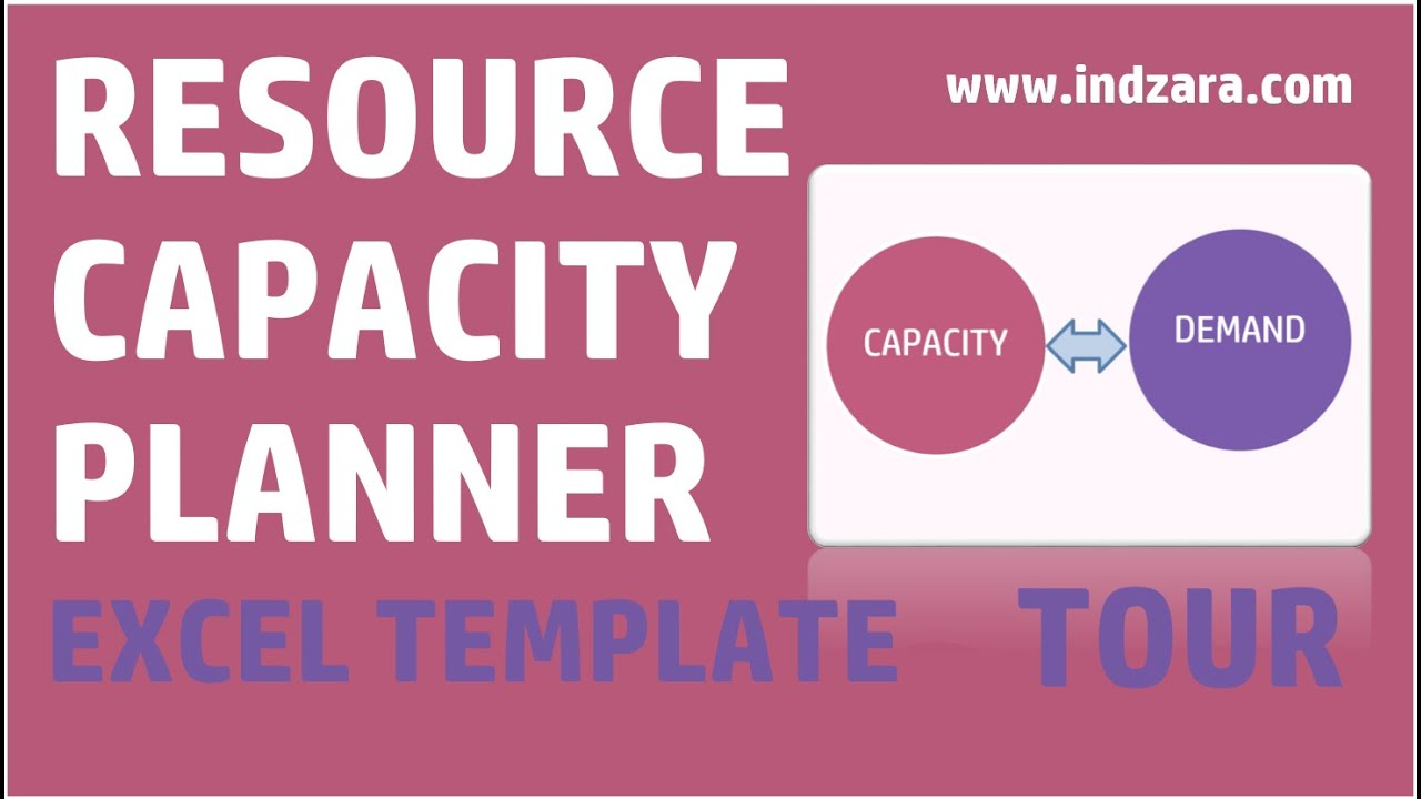 Resource capacity planner excel template v1 tour youtube alramifo Gallery