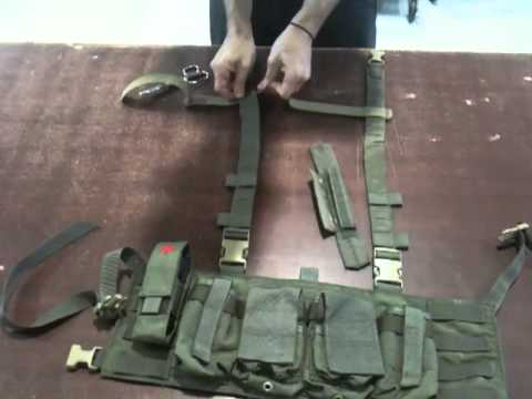Installation - PIG Eagle Universal Chest Rig H Harness Strap Kit
