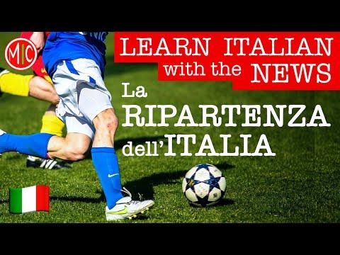 La RIPARTENZA dell'ITALIA dopo il lockdown | LEARN ITALIAN with the NEWS 5