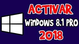 Activar Windows 8.1 PRO [Funcionando 2018]