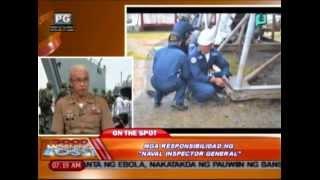 """Panayam kay Maj. Gen. Remegio C. Valdez ukol sa mga responsibilidad ng """"Naval Inspector General"""""""