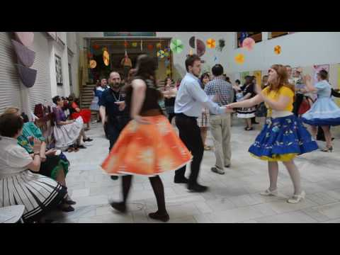 Square dance Plus Patter Call with Jerry Story 2017