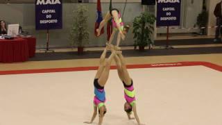 Gymnastics - Maia International Acro Cup - POR GCP W3 Junior Combined
