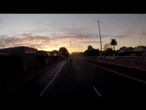 Timelapse at Sunrise, Perth to Northam