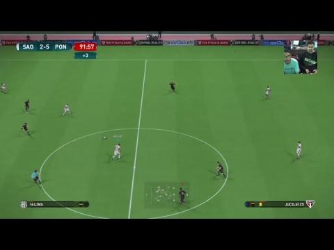 São Paulo vs Ponte Preta - Campeonato Brasileiro Virtual - Wanted Games