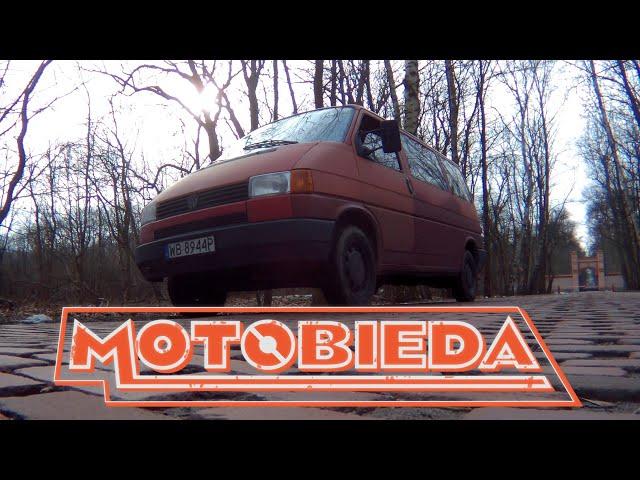 Volkswagen Transporter T4 - Test króla każdej budowy - MotoBieda