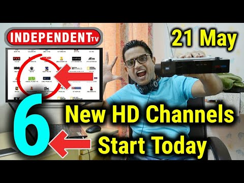 Independent TV Breaking News | 6 New HD Channel's Start Today | 21 May Latest Update