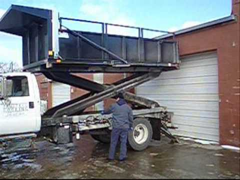 Innovative Roofing Series Part 1 Scissor Lift Truck