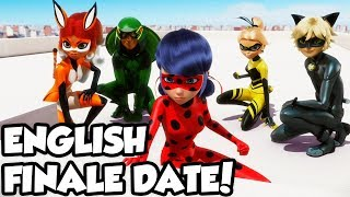 Miraculous Ladybug Season 2 ENGLISH Finale Date! | Season 2 English Finale on Nov. 17th!
