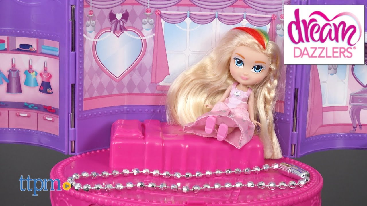 Dream Dazzlers Club Jewelry Box Bedroom from Toys R Us YouTube