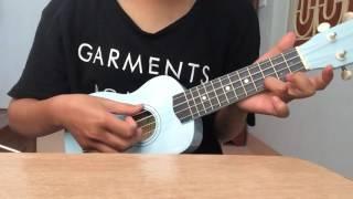 Ai chờ ai cover ukulele