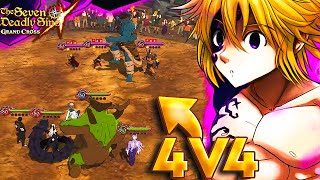 NEW 4v4 PVP GAMEMODE!! CRAZY AND UNBALANCED OR FUN??? | Seven Deadly Sins: Grand Cross