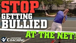 Tennis Lesson: Stop Getting Bullied at the Net in Doubles