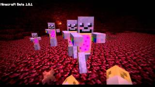 Minecraft : Kenshiro VS Nyan Cat ! [HD]