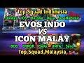 Evos Indo 🇲🇨 vs ICON Malaysia 🇲🇾 [Jess&Oura vs Unta&Syno]