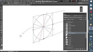 Как рисовать окружности (эллипсы) в перспективе Урок  7