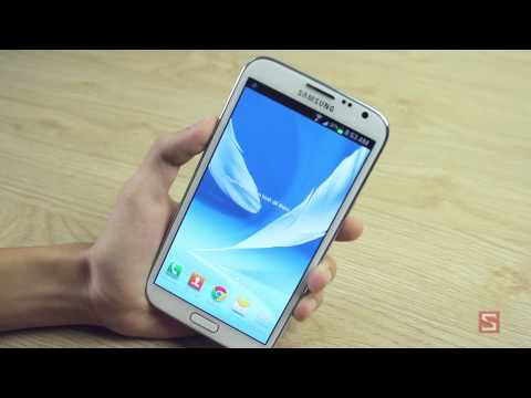 [Galaxy Note 2 ] Trên tay Samsung Galaxy Note II - CellphoneS