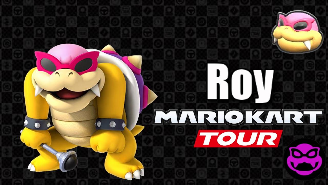 Mario Kart Tour Roy S Voice Lines Youtube