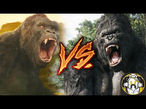 Kong 2005 vs Kong 2017: Who Wins?