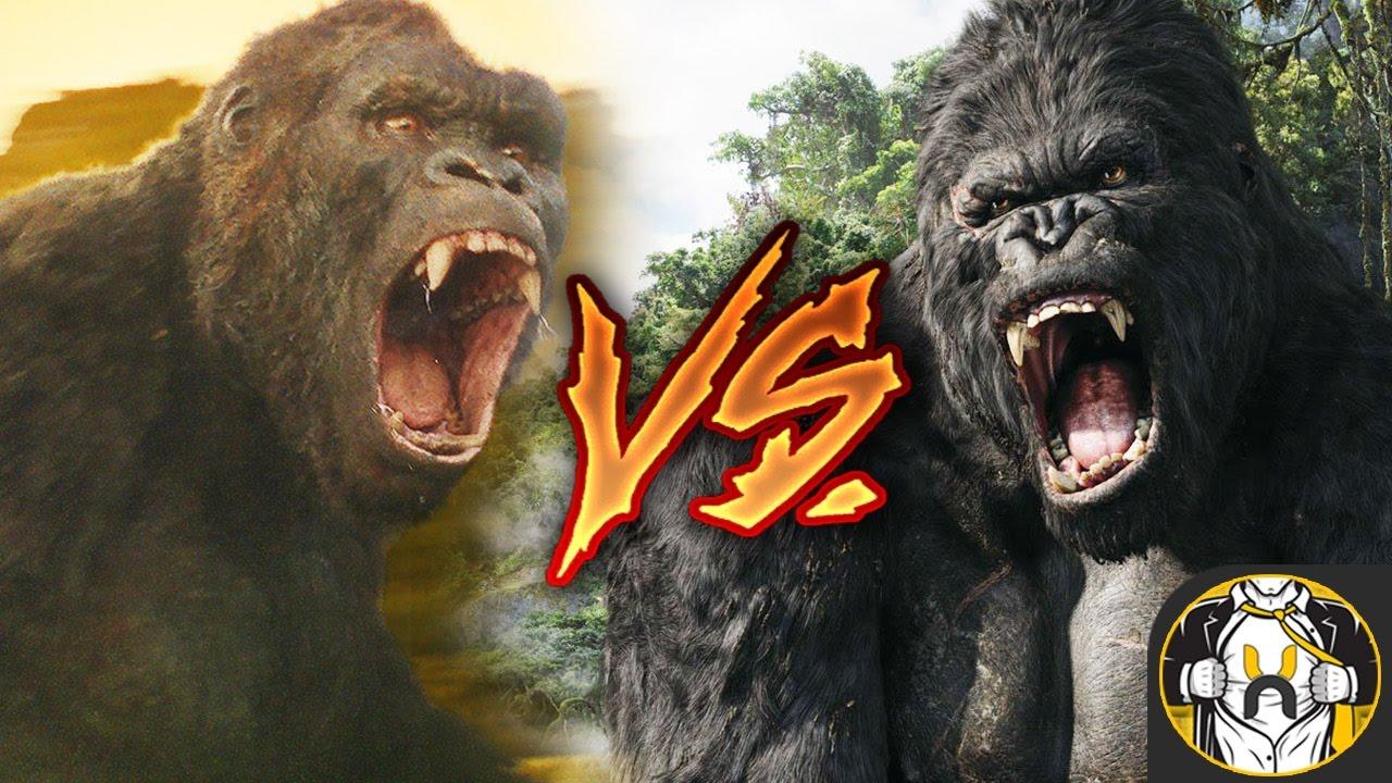 Kong Skull Island Comparison King Kong