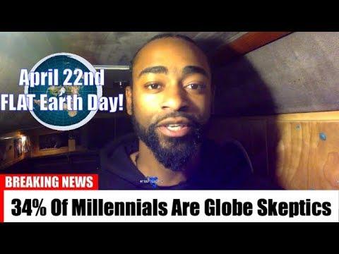 Flat Earth: 66% Of Millenials Believe the Globe Model