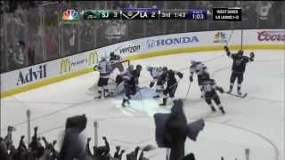 L.A. Kings Amazing Comeback vs SJ Sharks. 5/16/13