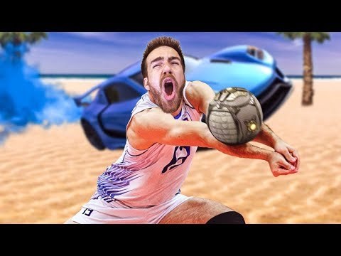 MODDED BEACH VOLLEYBALL IS MY FAVORITE ROCKET LEAGUE