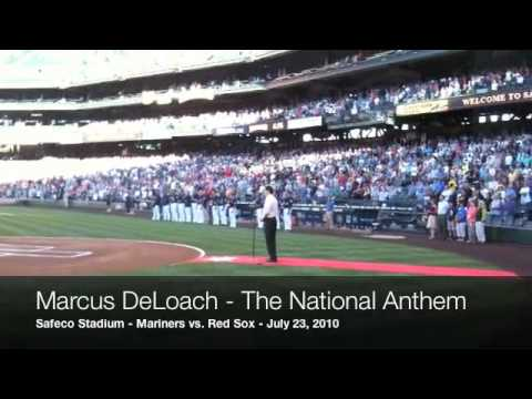 Marcus DeLoach - The National Anthem / 07.23.10