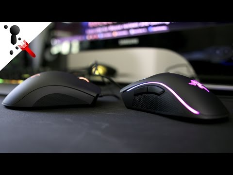 Razer DeathAdder Chroma VS Razer Mamba Tournament Edition (C