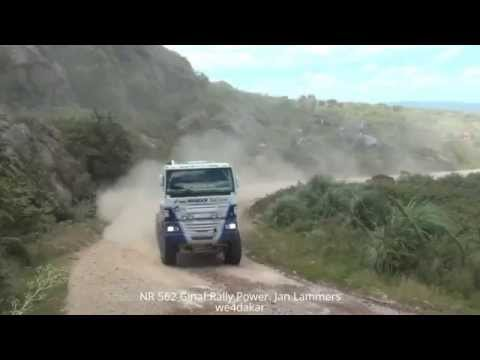 NR 562 DAKAR 2015 Ginaf Rally Power. Jan Lammers