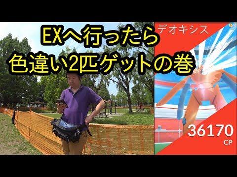 【ポケモンGO】EXへ行ったら色違い2匹ゲット、エイパムは?