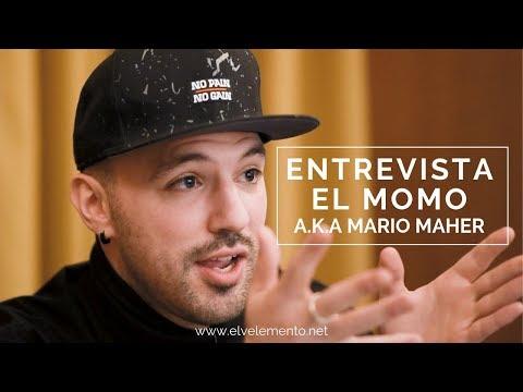 """El MOMO A.k.a. Mario Maher """"NUNCA Me Consideré Un RAPERO Al Uso""""   ENTREVISTA"""