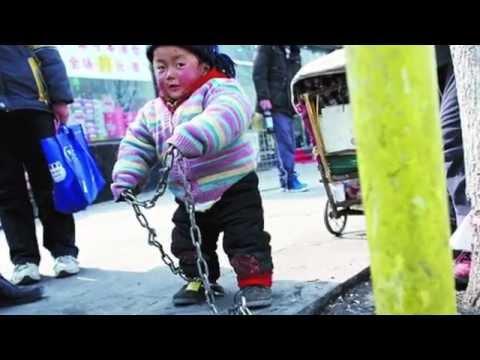 Horrible!!! Mercado de niños en China