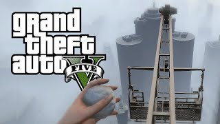 SNOWY HEIGHTS!  (GTA 5 Funny Moments)