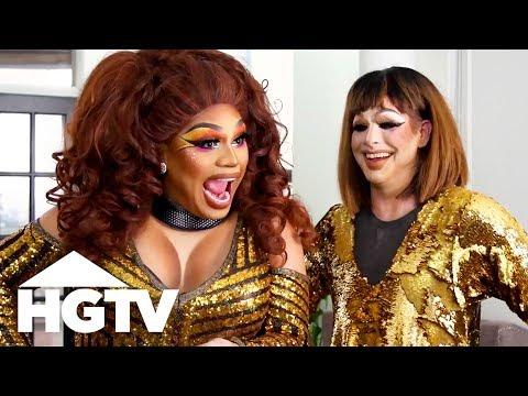 The Art of Drag Queen Makeup - See J Work - HGTV
