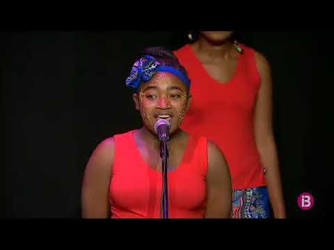 Solidaritat a Eivissa amb les veus africanes del cor Malagasy Gospel