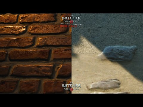 The Witcher 3 HD Reworked Project 12.0 Ultimate - Textures Quality Preview