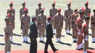 guard of honor sainik school ghorakhal