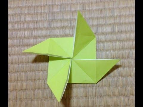 クリスマス 折り紙 折り紙 風車 作り方 : youtube.com
