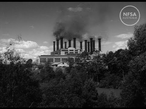 Victoria Converts Brown Coal To Power And Light. Australian Diary 14