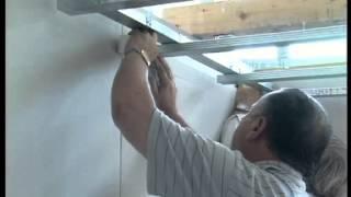 Установка подвесных потолков из гипсокартона(, 2013-11-20T10:11:13.000Z)