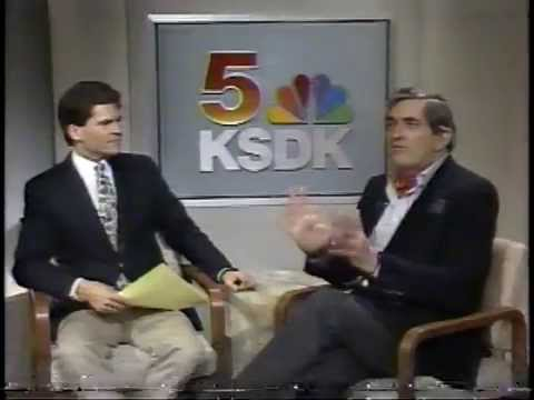 Jonathan Frid Interview  KSDK TV St.Louis,Mo. 1987