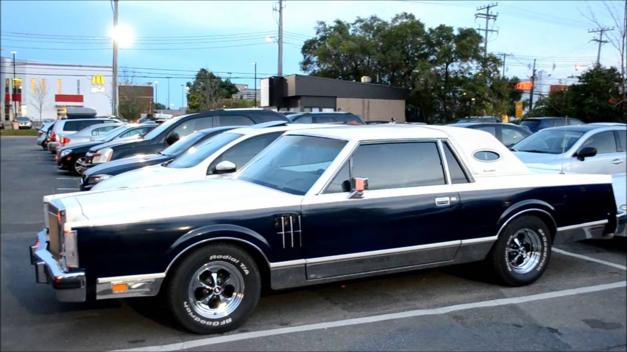 1980 Continental Mark Vi Hot Rod Lincoln Youtube