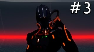 Tron Evolution Gameplay Playthrough Part 3 - Black Guard - Chapter 2