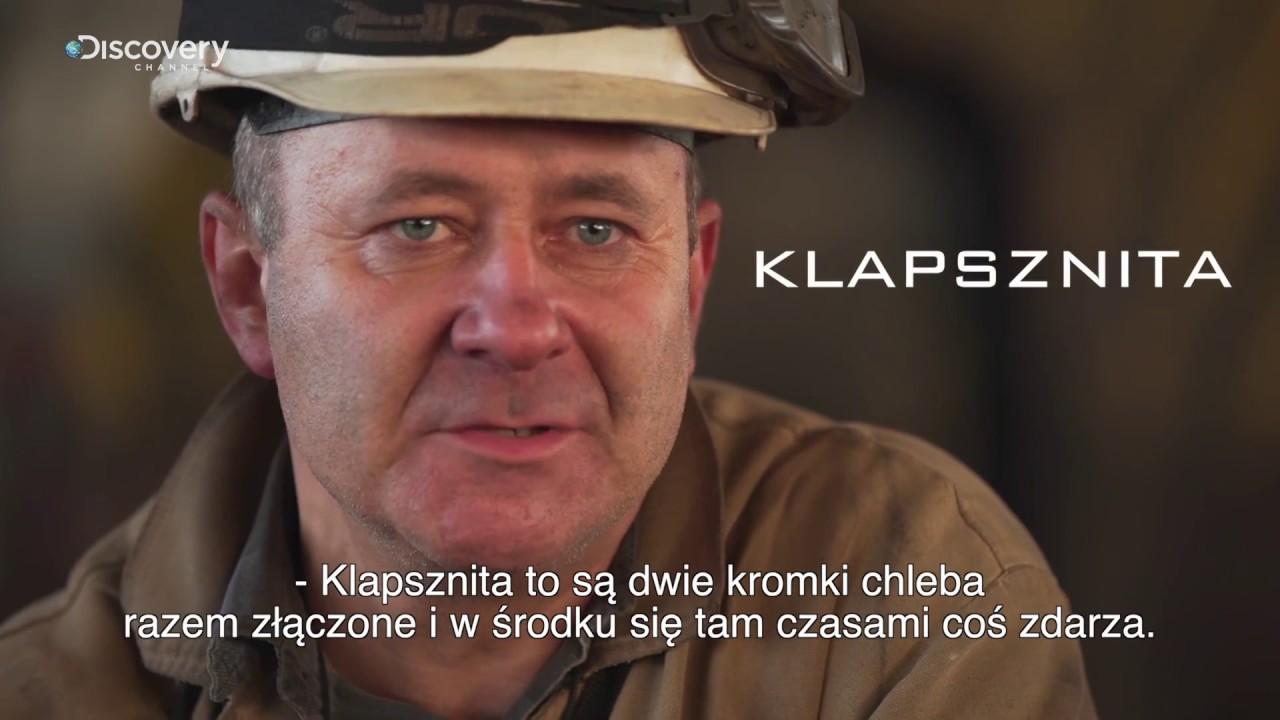 Górnicy PL | Śląsko godka: Klapsznica z fetem | Discovery Channel