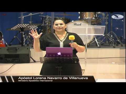 Apóstol Lorena Navarro De Villanueva | Nación Santa, Pueblo Escogido