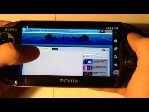 Playstation Vita Web Browser Review (Playstation / PSP Vita )